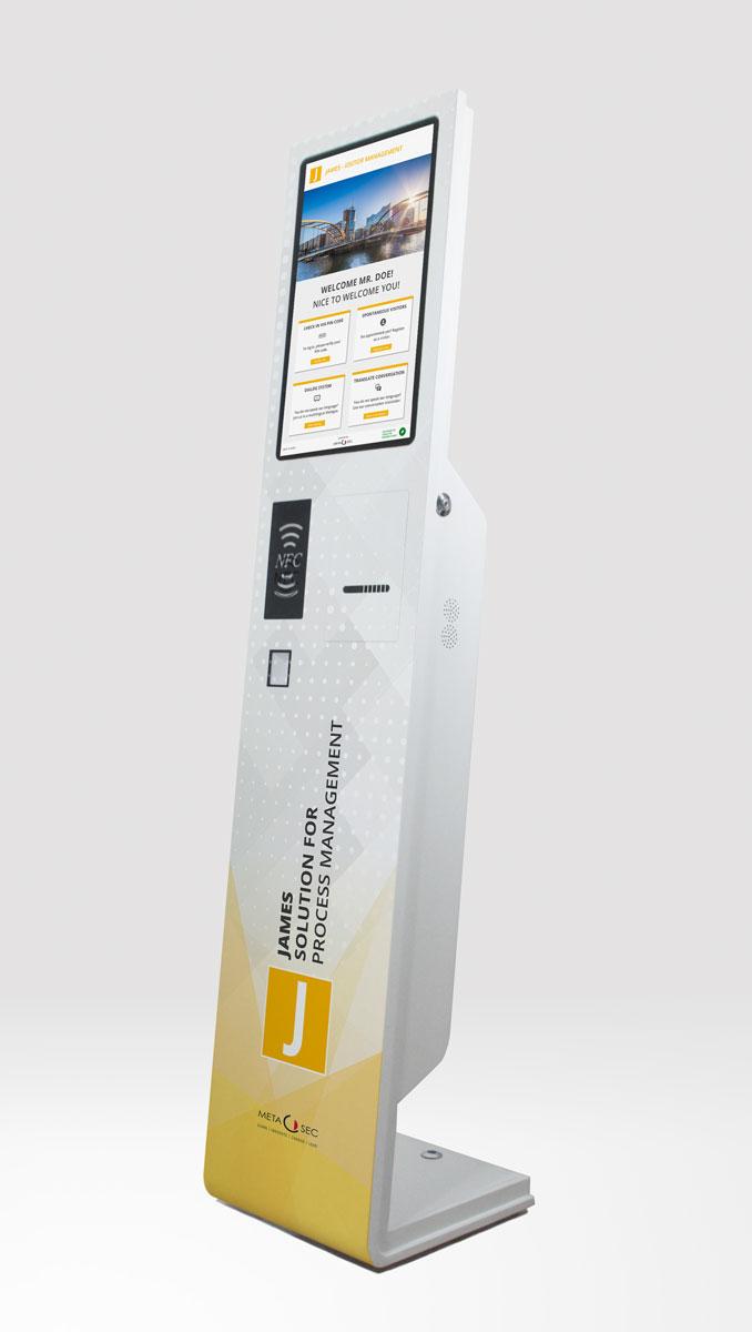 Self Check-In Kiosk für den digitalen Empfang