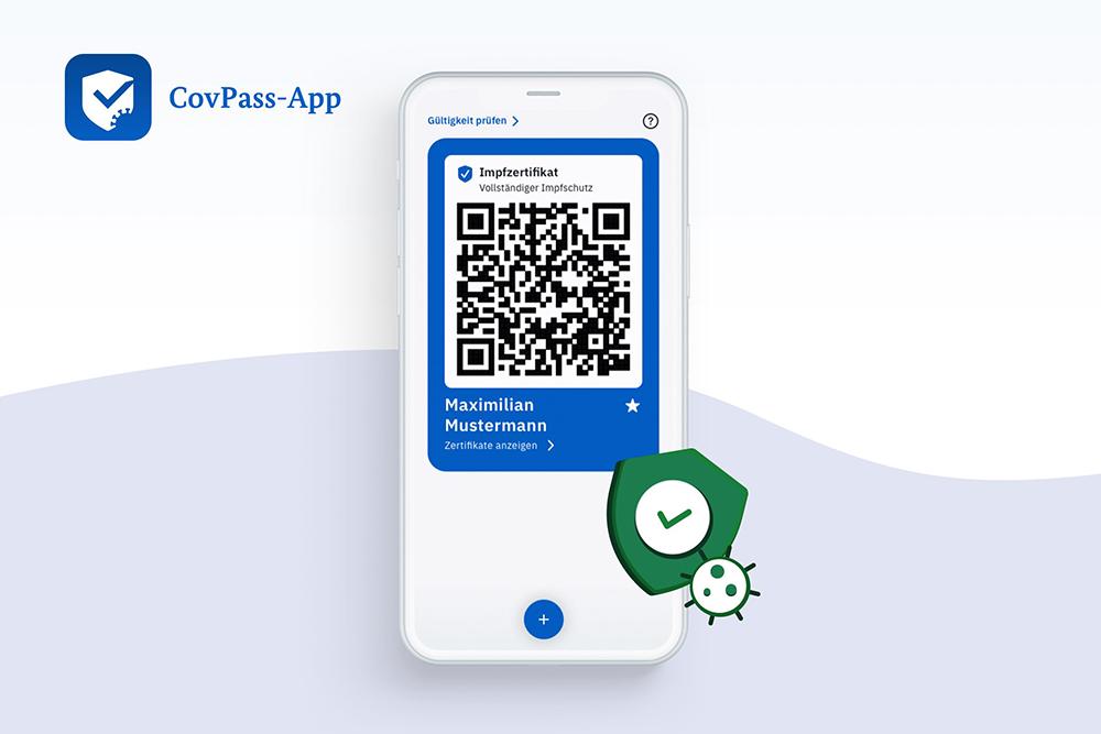 Cov_Pass_App QR-Code scannen Kiosk