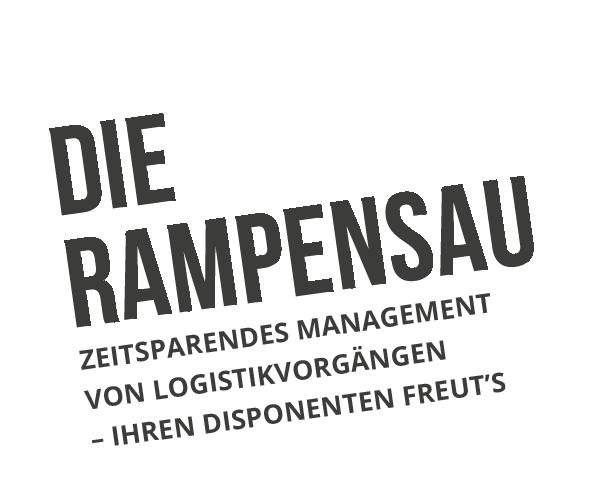 Kiosksystem JAMES für die Logistik: Die Rampensau